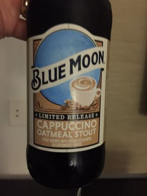 Blue Moon – Cappuccino Oatmeal Stout (discontinued)