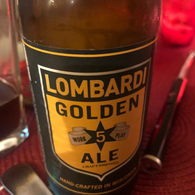 Sand Creek Brewing Company – Lombardi Golden Ale